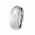 Scott Kay Prime 8mm Dome Cobalt Wedding Band