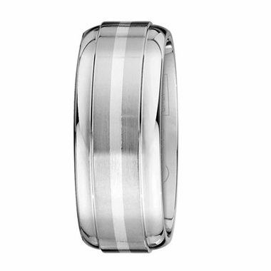 Scott Kay Unity 9mm Cobalt Band with Sterling Silver Center