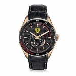 Scuderia Ferrari Gran Premio Watch with Rose Gold IP