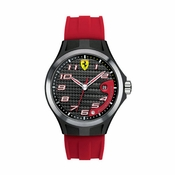 Scuderia Ferrari Lap Time Red and Black Watch