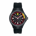 Scuderia Ferrari Pit Crew Black and Red Watch
