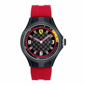Scuderia Ferrari Pit Crew Black Watch with Red Straps