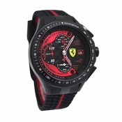 Scuderia Ferrari Race Day Black and Red Watch