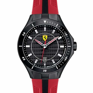 Scuderia Ferrari Race Day Red and Black Watch