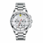 Scuderia Ferrari Stainless Steel Chronograph Watch