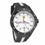Scuderia Ferrari Two Tone Race Day Watch with Red Accents