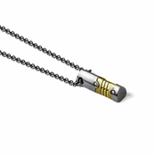 Tonino Lamborghini Anima Pendant with Stainless Steel Rolo Chain