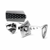 Tonino Lamborghini Aria Collection Stainless Steel Cufflinks