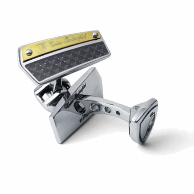 Tonino Lamborghini Energia Collection Stainless Steel Cufflinks