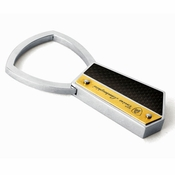 Tonino Lamborghini Energia Collection Stainless Steel Key Ring
