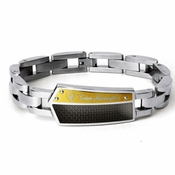 Tonino Lamborghini Energia Collection Stainless Steel Men's Bracelet