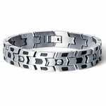 Tonino Lamborghini Impronta Collection Stainless Steel Men's Bracelet