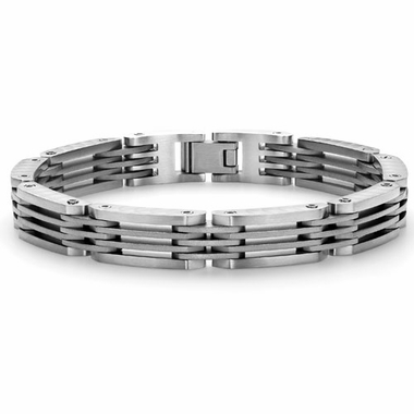 Tonino Lamborghini Motore Collection Stainless Steel Men's Bracelet