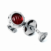 Tonino Lamborghini Red Luce Collection Stainless Steel Cufflinks