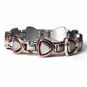Tonino Lamborghini Spyder Collection Copper-Toned Stainless Steel Bracelet
