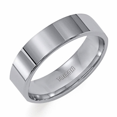 Triton 6mm Flat Tungsten Carbide Ring