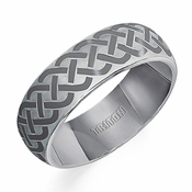 Triton 7mm Celtic Knot Tungsten Carbide Ring