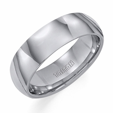 Triton 7mm Dome Profile Tungsten Carbide Ring