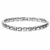 Triton Classic Box Chain Stainless Steel Bracelet