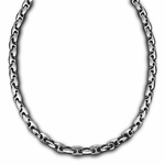Triton H-Shaped Link Chain Stainless Steel Necklace