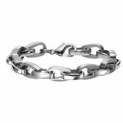 Triton Oval Link Stainless Steel Bracelet