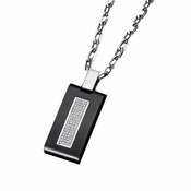 Triton Presidential Stainless Steel Dog Tag