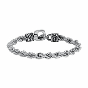 Triton Stainless Steel Rope Chain Bracelet