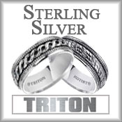 Triton Sterling Silver Rings