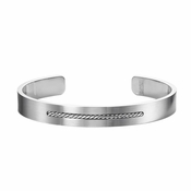 Triton Torc Stainless Steel Cuff Bracelet