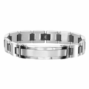 Triton Two-Tone Stainless Steel ID Bracelet