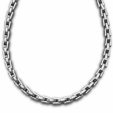 Triton U-Shaped Link Chain Stainless Steel Necklace