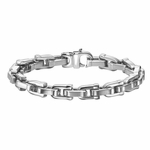 Triton U-Shaped Link Stainless Steel Bracelet