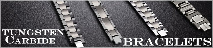Tungsten Carbide Bracelets