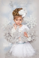 Angel Winter Wonderland Whimiscal Cape & Skirt