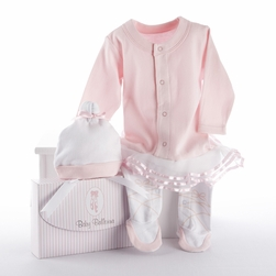 Baby Ballerina Two-Piece Layette Set