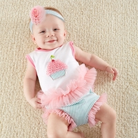 �Baby Cakes� 2-Piece Cupcake Outfit by Baby Aspen