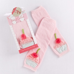 """Baby Cakes"" Cupcake Leg Warmers by Baby Aspen"