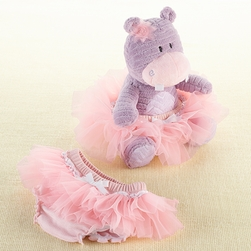 "Baby Gifts For Girls""Lady Lulu and Baby's Tutu"" Plush Plus & Bloomer for Baby"