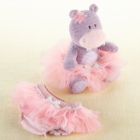 """Baby Gifts For Girls""""Lady Lulu and Baby's Tutu"""" Plush Plus & Bloomer for Baby"""