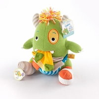 "Calvin the Closet Monster"" Knit Baby Socks and Plush Monster Gift Set"