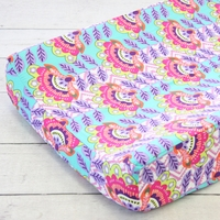 Changing Pad Cover - Avery's Aztec