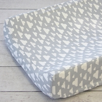 Changing Pad Cover - Cloudy Day