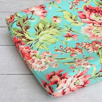 Changing Pad Cover - Coral Camila