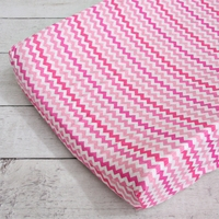 Changing Pad Cover - Girly Zig Zag