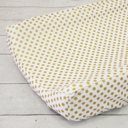 Changing Pad Cover - Gold Dot