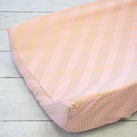 Changing Pad Cover - Golden Goddess