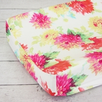 Changing Pad Cover - Lemon Drop
