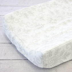 Changing Pad Cover - Lovely Damask