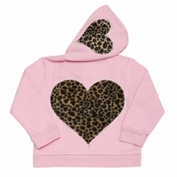 Cheetah Heart Hooded Jacket