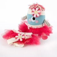 "Clara the Closet Monster"" Baby Bloomers, Headband and Monster Plush Toy Gift Set"